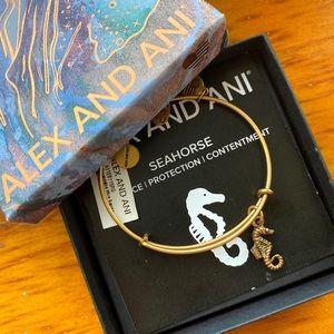 Alex and Ani Seahorse Bracelet